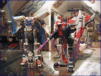 Nala's Galaxy Force Vector Prime and Starscream