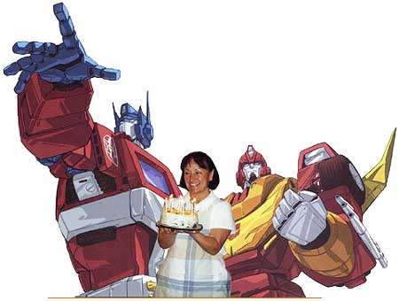 Happy Birthday Transformers