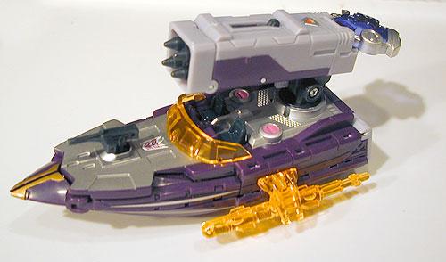 Cybertron Thunderblast Alt Mode