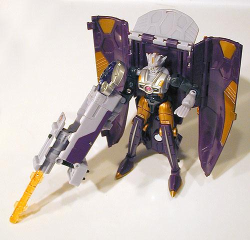Cybertron Thunderblast Bot Mode