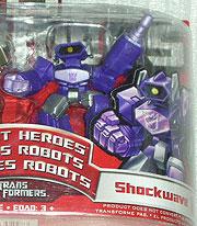 Robot Heroes Shockwave