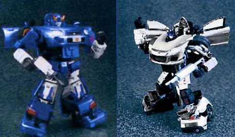 Bluestreak and Meister