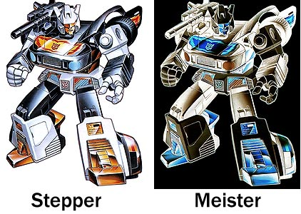 Stepper versus Meister