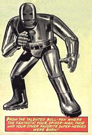 Kirby - Iron Man Mark 1